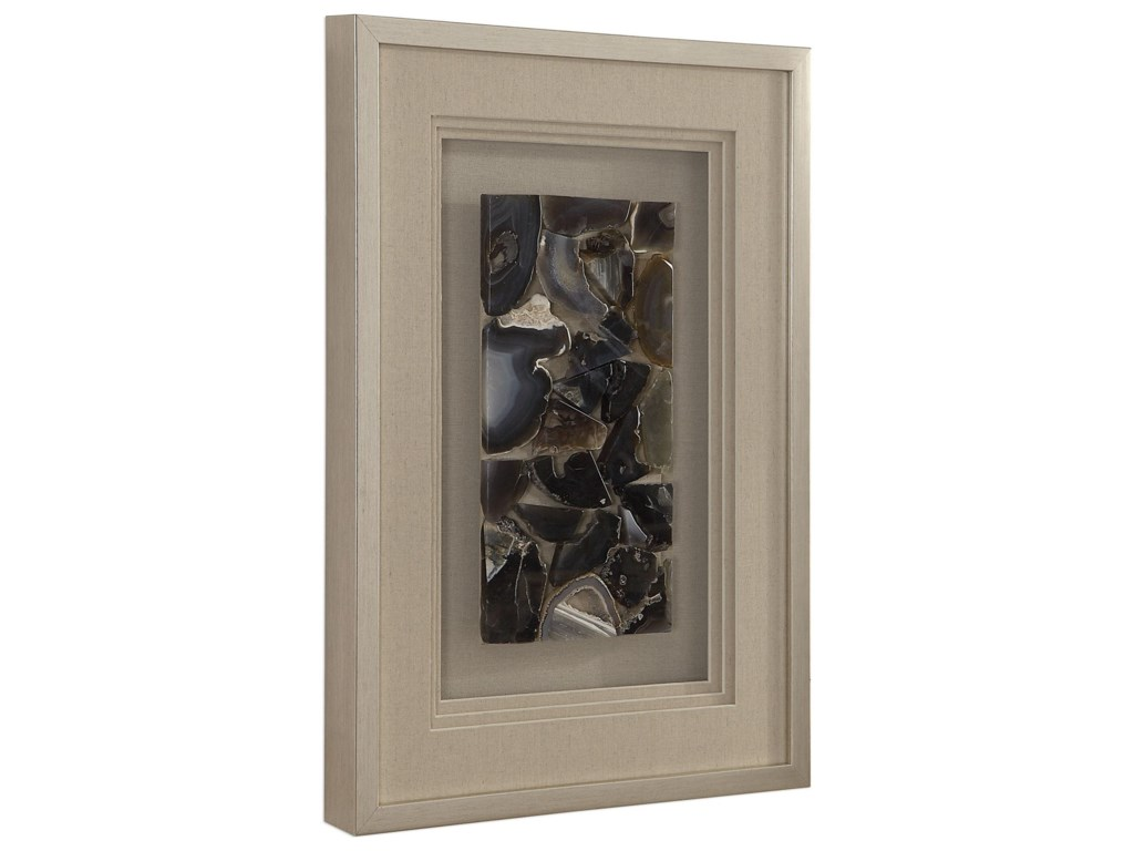 Uttermost Alternative Wall DecorSeana Agate Stone Shadow Box
