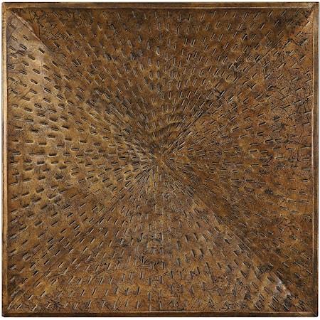 Blaise Antiqued Bronze Wall Art