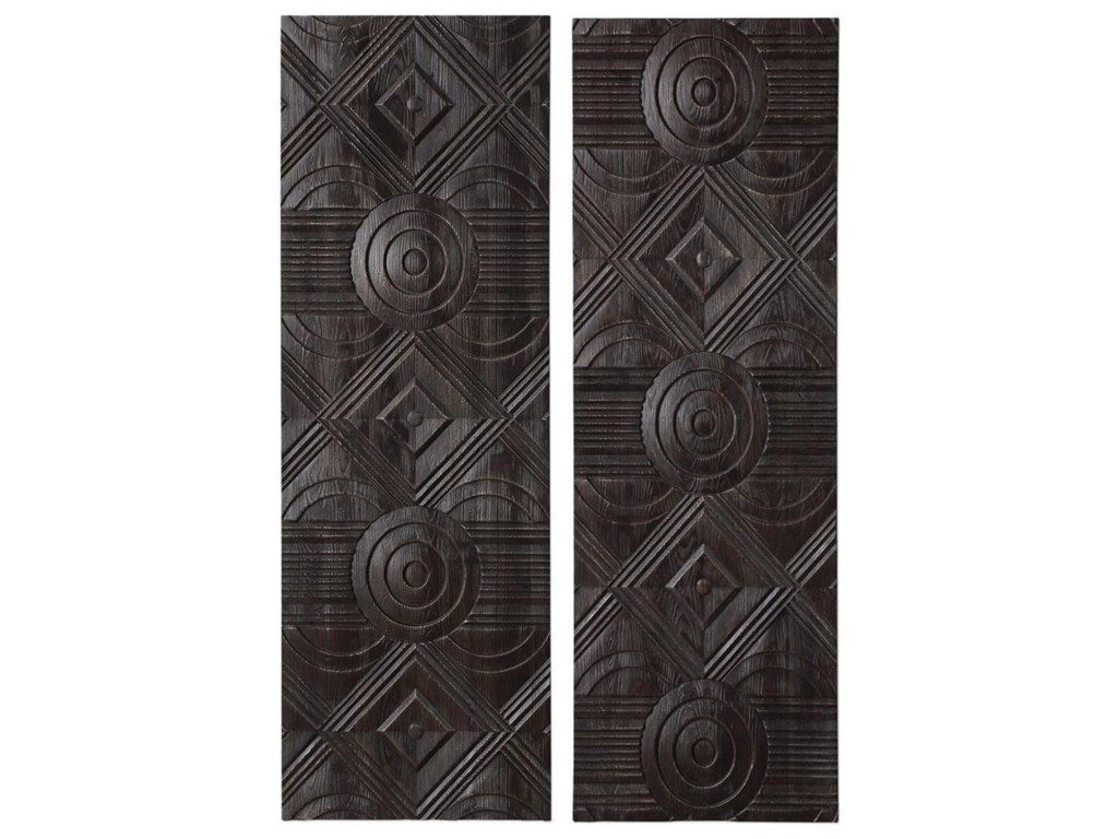 A Carved Wood Wall Panels