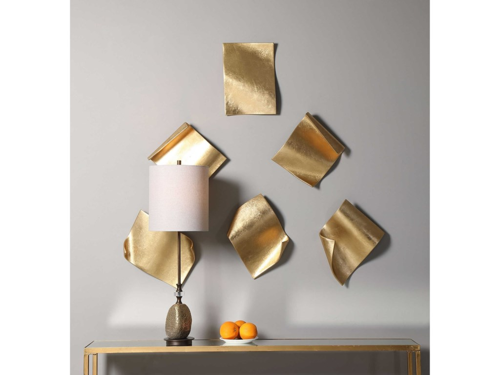 Uttermost Alternative Wall DecorPages Wall Decor, S/6