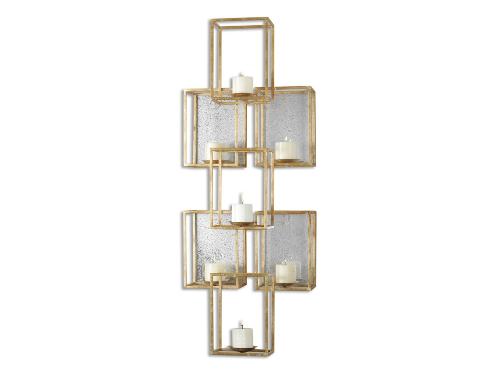 Uttermost alternative wall decor ronana mirrored wall sconce uttermost alternative wall decor ronana mirrored wall sconce miskelly furniture wall dcor amipublicfo Gallery