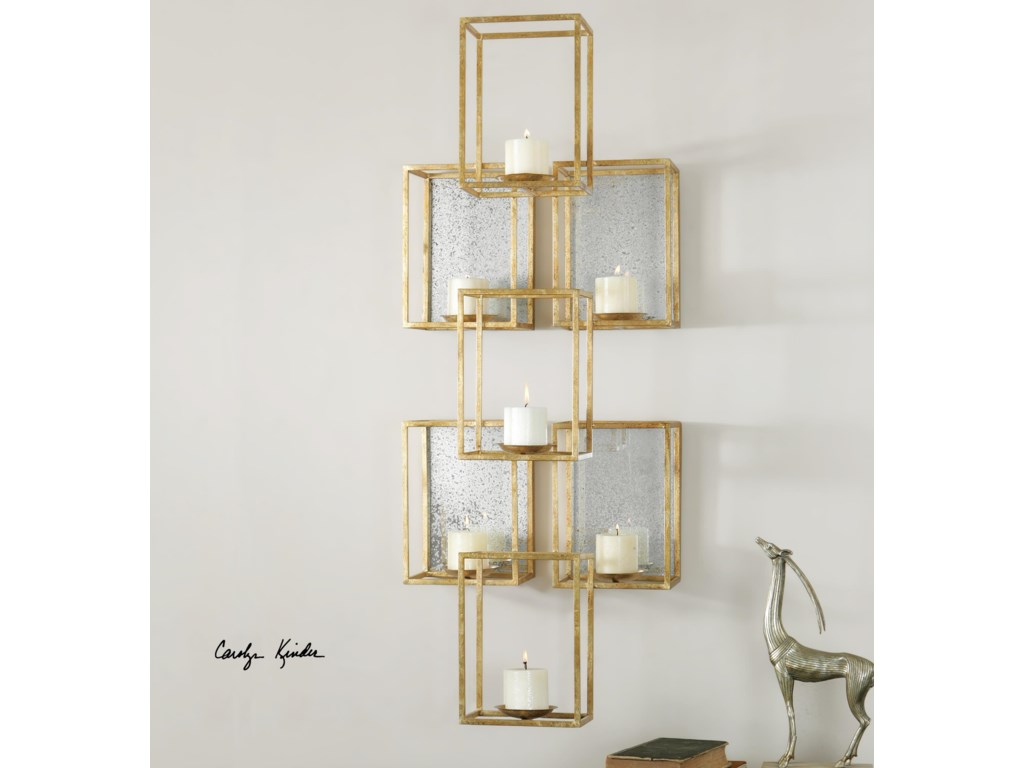 Uttermost Alternative Wall DecorRonana Mirrored Wall Sconce