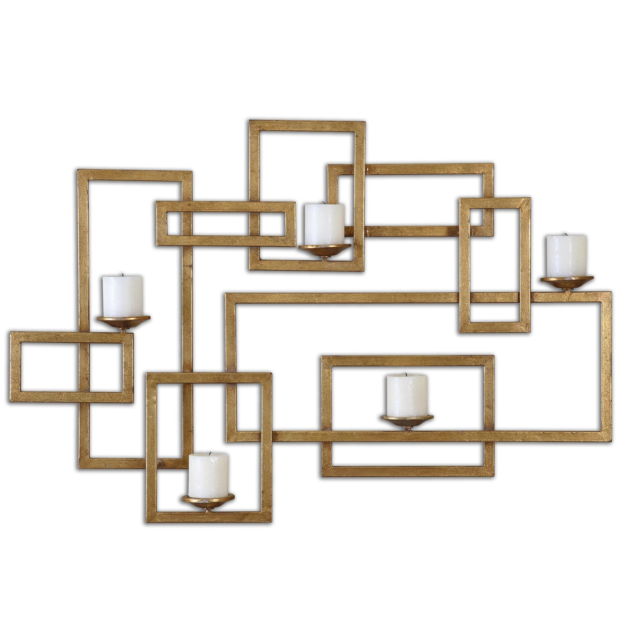 Uttermost Alternative Wall DecorBrighton Gold Wall Sconce ...