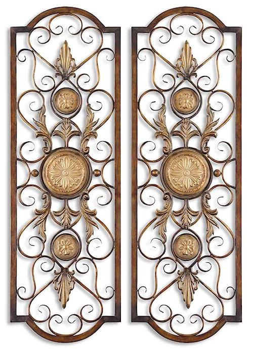 Uttermost Alternative Wall Decor Micayla Panels Set of 2