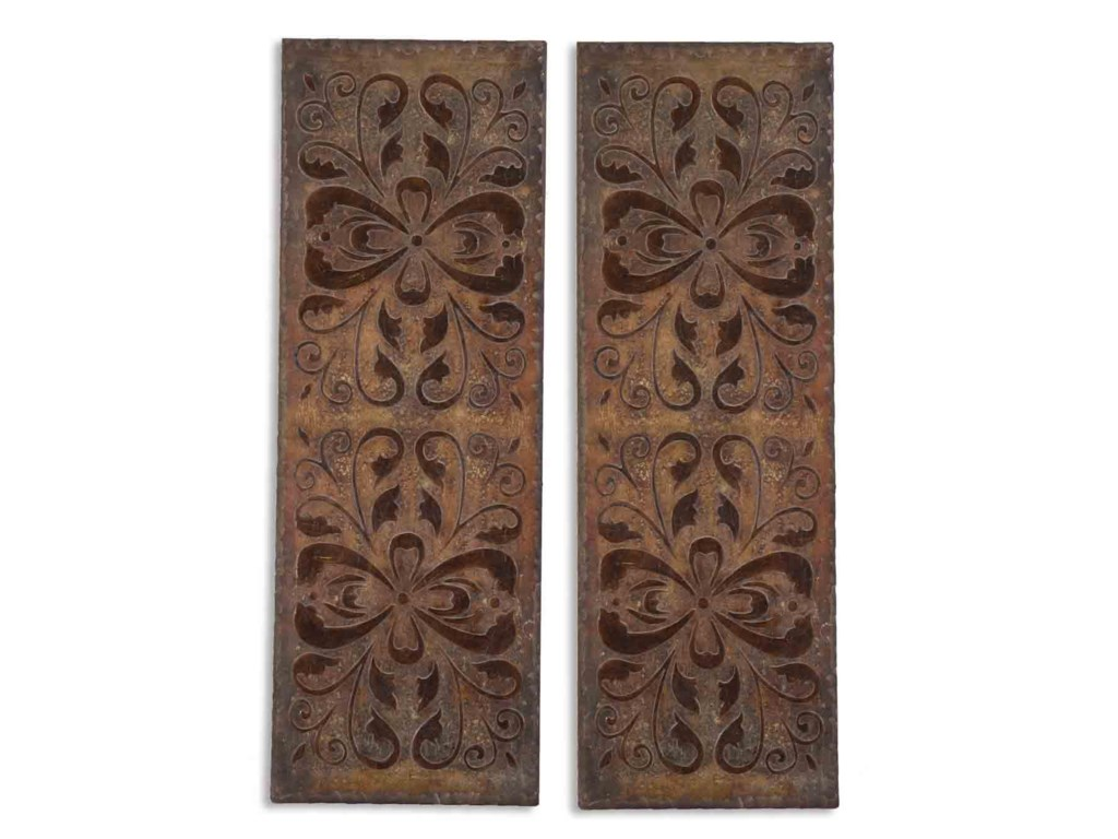 Uttermost Alternative Wall DecorAlexia Panels Set of 2