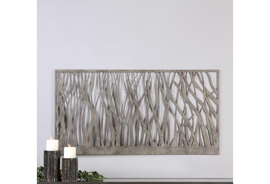 Uttermost Alternative Wall Decor 13931 Amadahy Metal Wall Art   Dunk &  Bright Furniture   Wall Decor