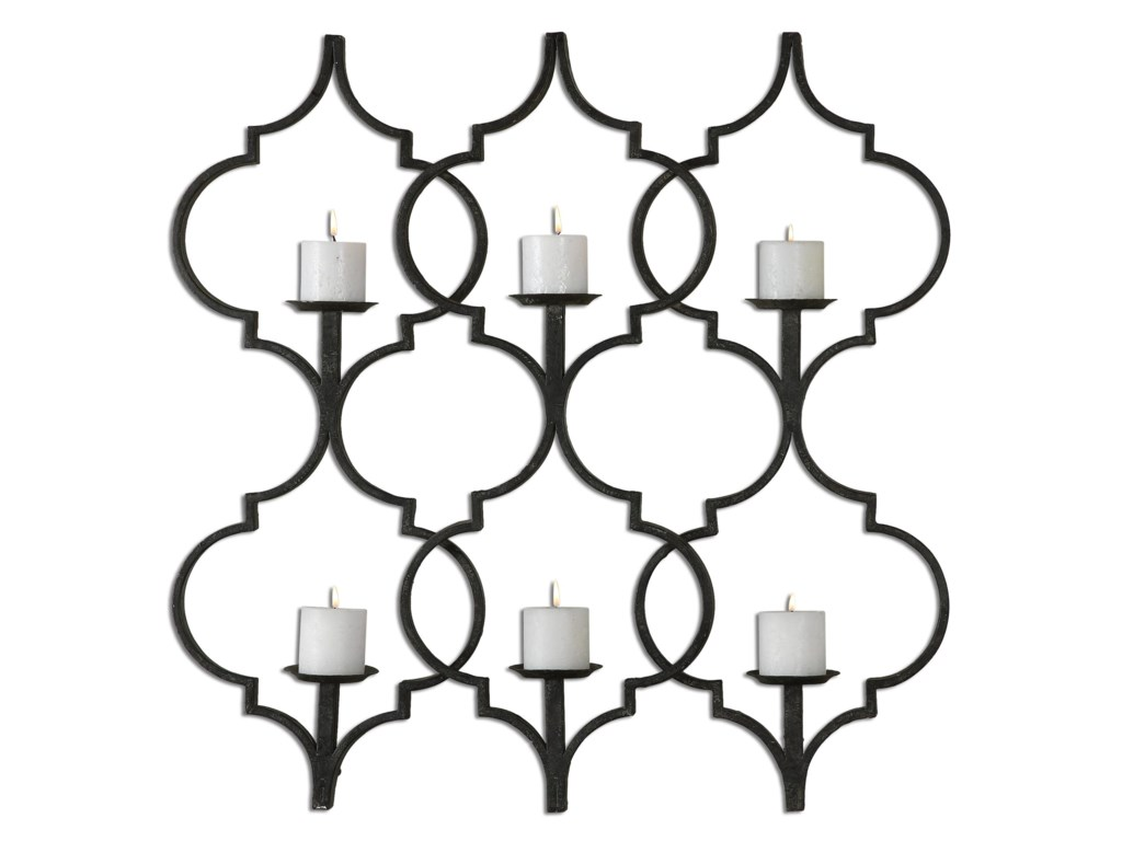 uttermost alternative wall decor zakaria metal candle wall sconce del sol furniture wall dcor - Candle Wall Decor