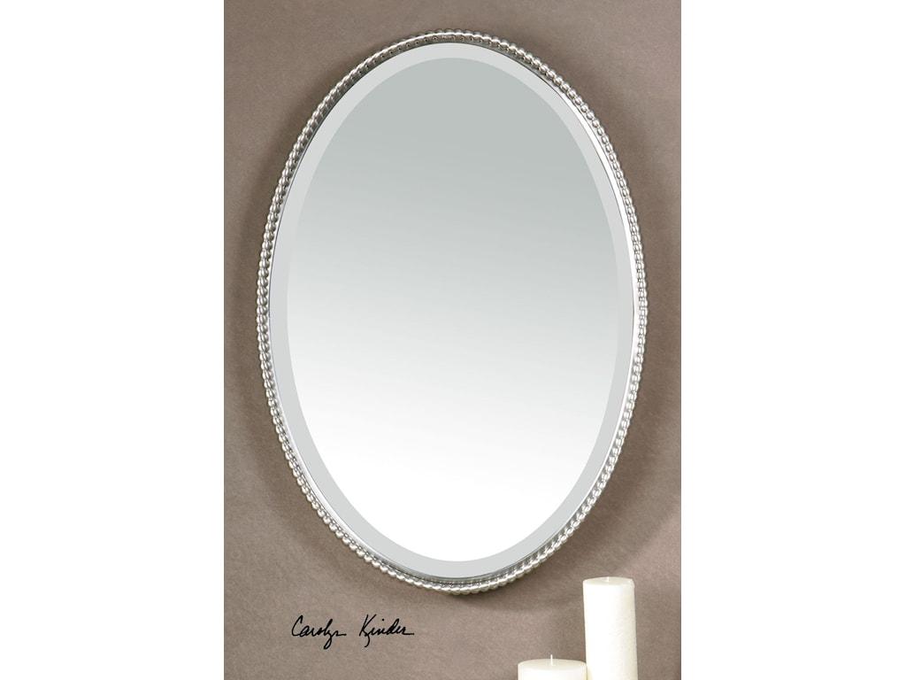 Uttermost Mirrors - OvalSherise Oval Mirror