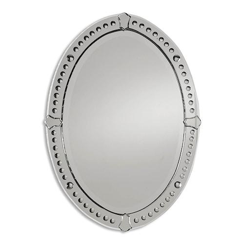 Uttermost Mirrors Graziano Oval Mirror