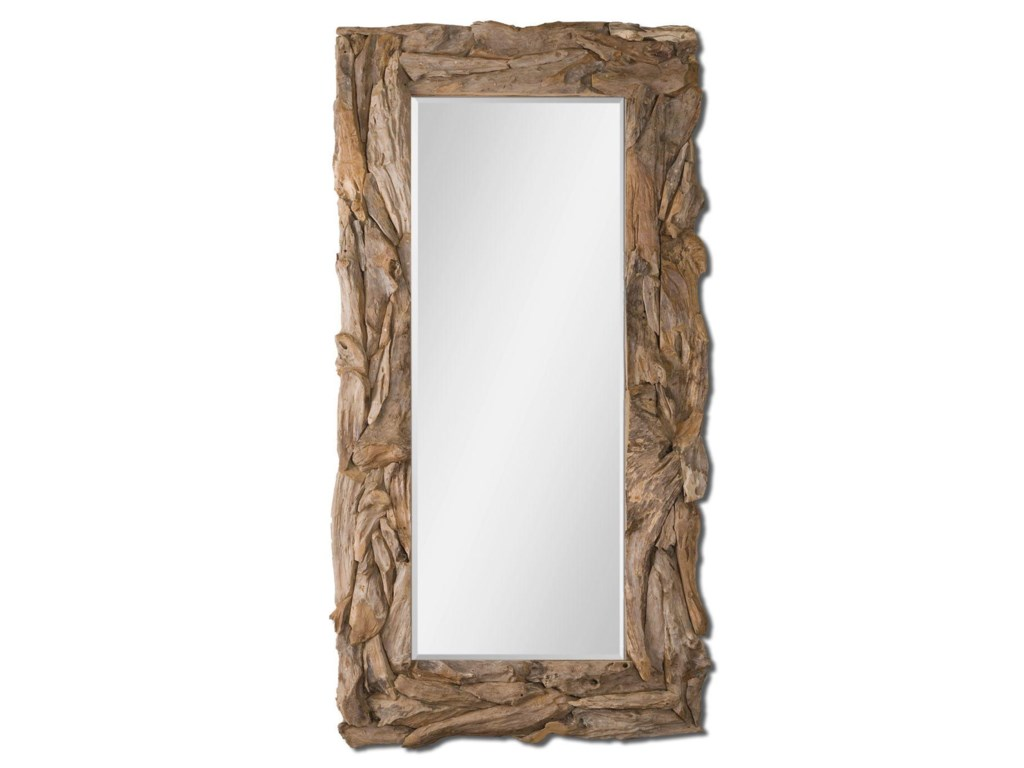 Uttermost MirrorsTeak Root Natural Mirror