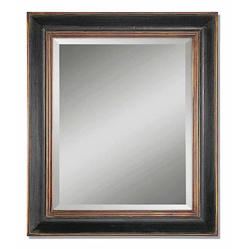 Uttermost Mirrors Fabiano Black Mirror
