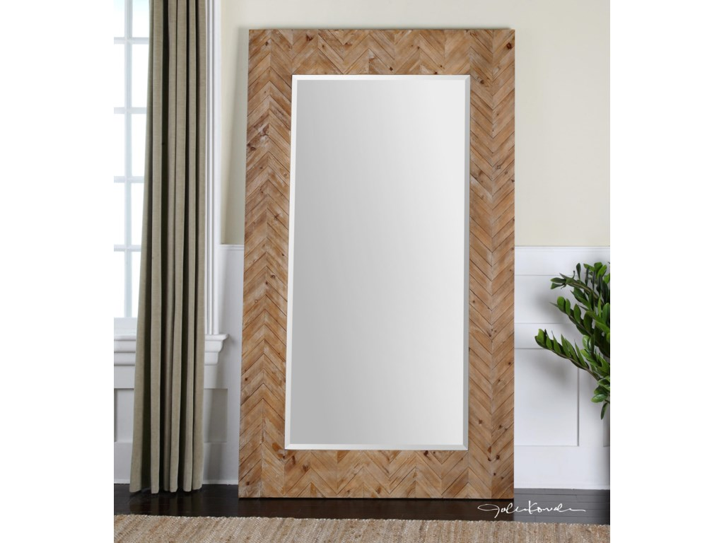 Uttermost MirrorsDemetria Oversized Wooden Mirror