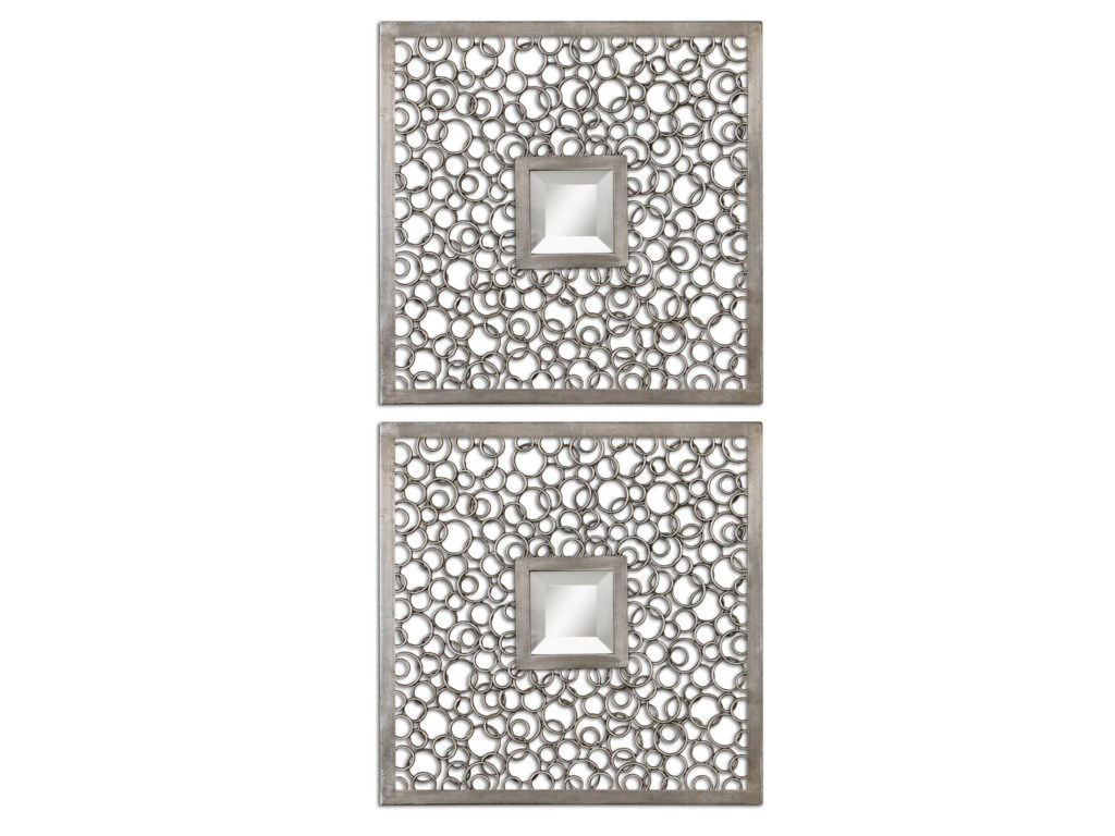 Uttermost MirrorsColusa Squares Set of 2