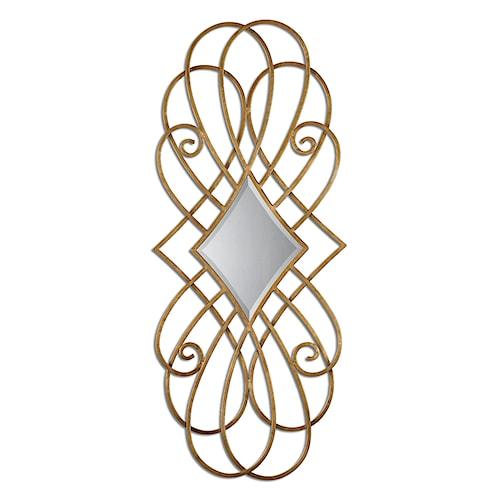 Uttermost Mirrors Lilou Gold Mirror