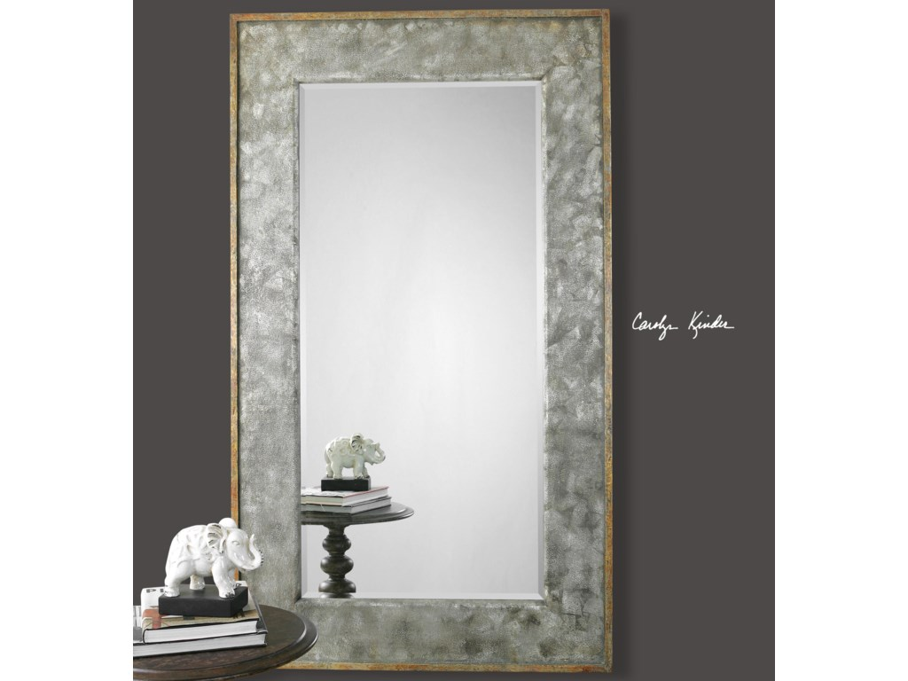Uttermost MirrorsLeron Distressed Bronze Mirror