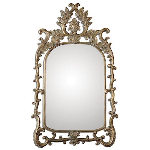 Uttermost Mirrors Abelia Gold Arch Mirror