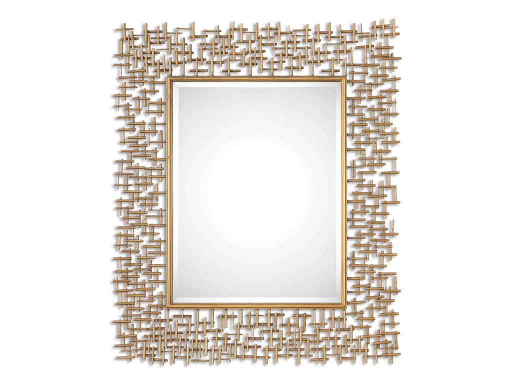 Uttermost MirrorsNevena Gold Mirror