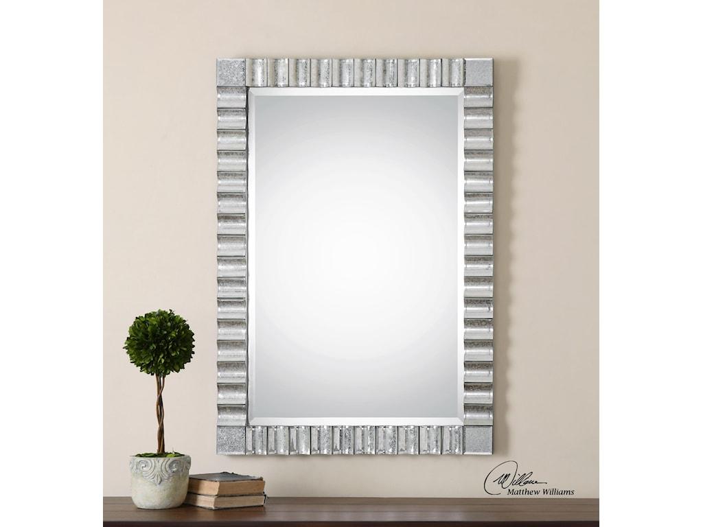 Uttermost MirrorsAmisos Scalloped Wall Mirror