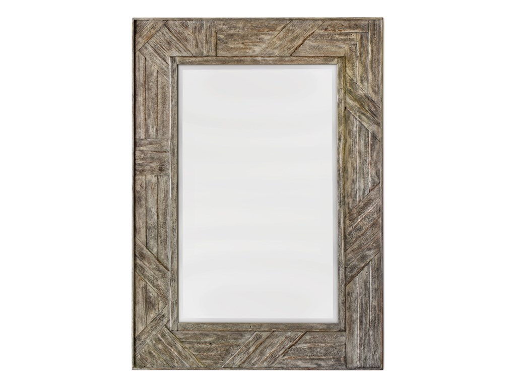 Uttermost MirrorsFortuo Mahogany Wood Mirror