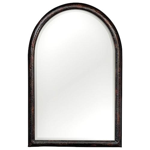 6004fa8eed6 Uttermost Mirrors Rada Arch Aged Bronze Mirror