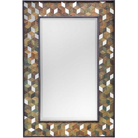 Cadia Wooden Mirror