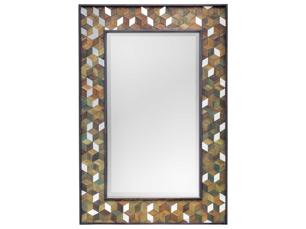 Uttermost MirrorsCadia Wooden Mirror