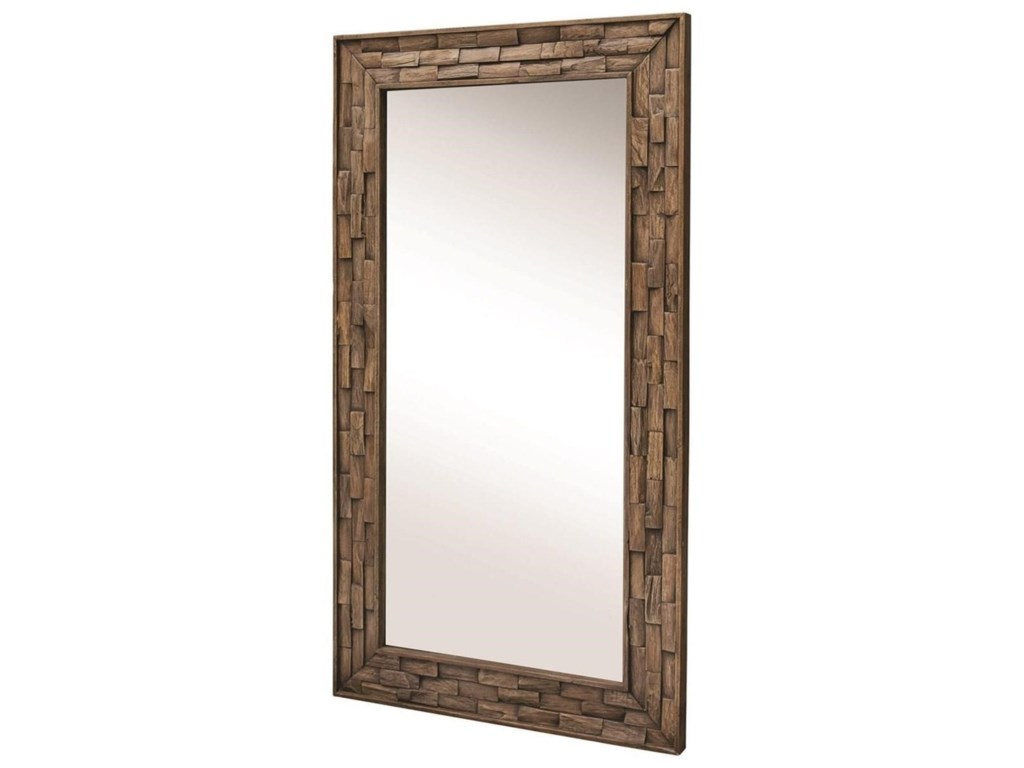 Uttermost MirrorsDamon Mosaic Wood Mirror
