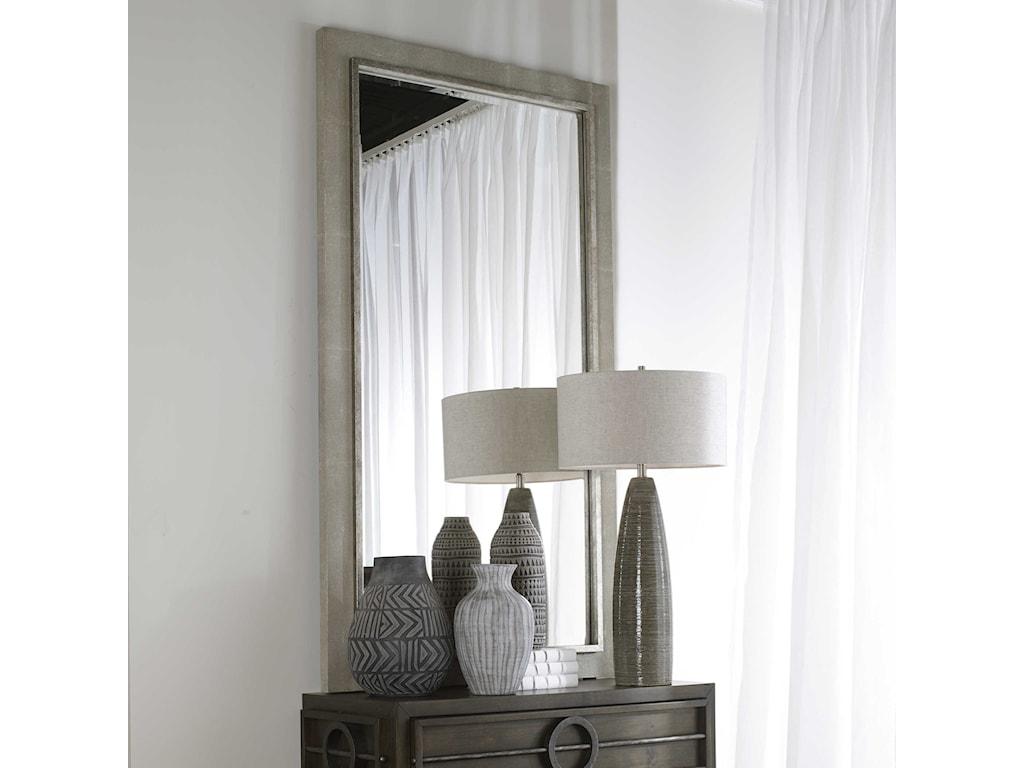 Uttermost MirrorsZigrino Oversized Gray Mirror