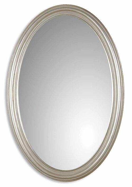 Uttermost Mirrors Franklin Oval Silver U