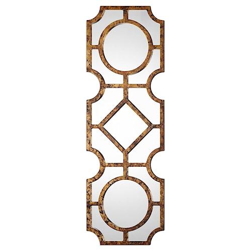 Uttermost Mirrors Lupano Geometric Mirror