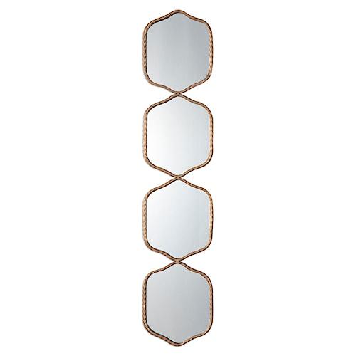 Uttermost Mirrors Myriam Twisted Iron Mirror