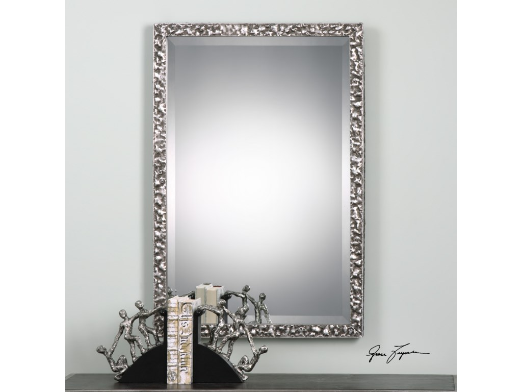 Uttermost MirrorsAlshon Metallic Silver Mirror