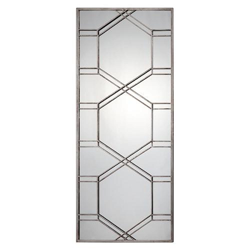 Uttermost Mirrors Kennis Silver Leaner Mirror