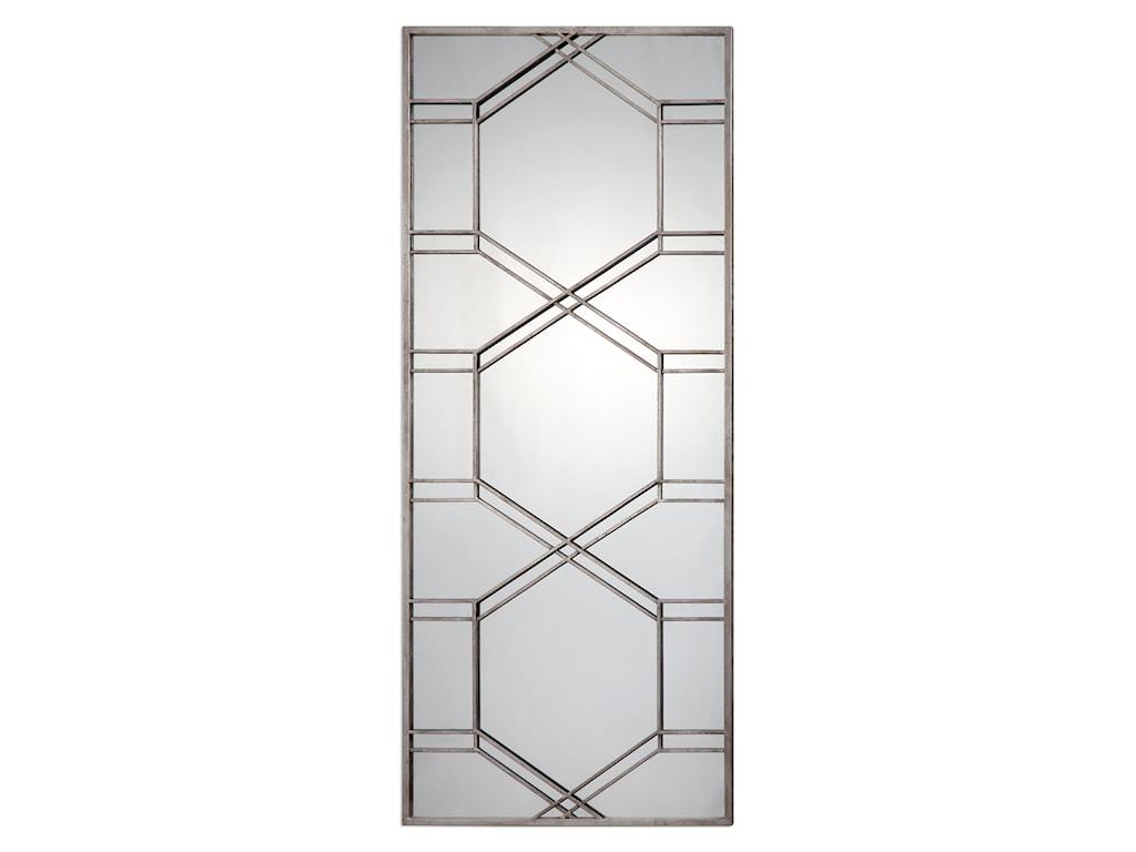 Uttermost MirrorsKennis Silver Leaner Mirror