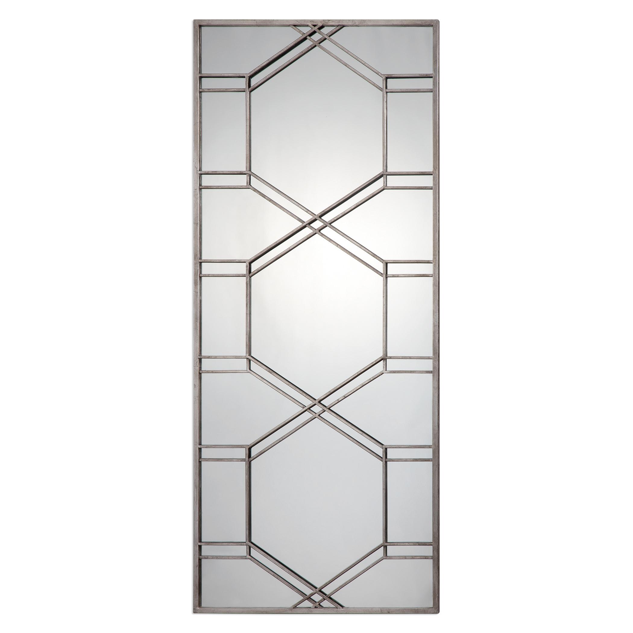 Uttermost MirrorsKennis Silver Leaner Mirror ...