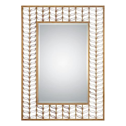 Uttermost Mirrors Phyllida Gold Mirror