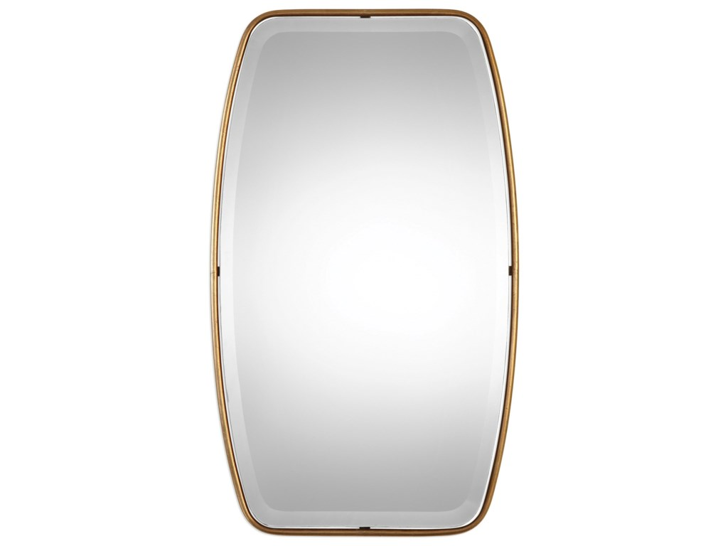 Uttermost Mirrors Canillo Antiqued Gold Mirror