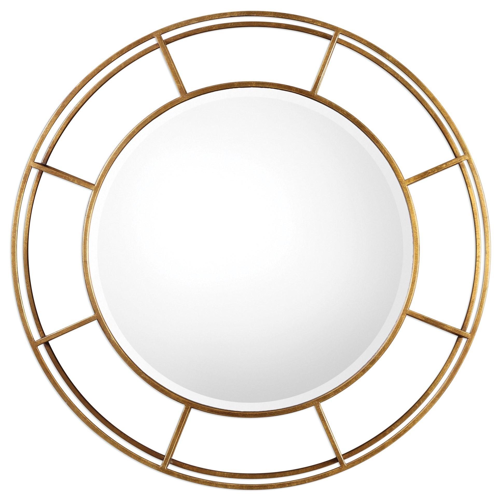 Uttermost Mirrors Salleron Round Mirror | Miskelly Furniture | Wall Mirrors