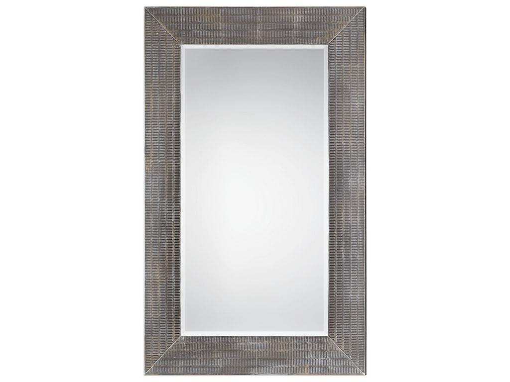 Uttermost Mirrors Frazer Stone Gray Mirror
