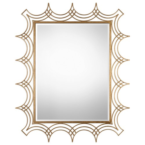 Uttermost Mirrors  Kiowa Gold Mirror