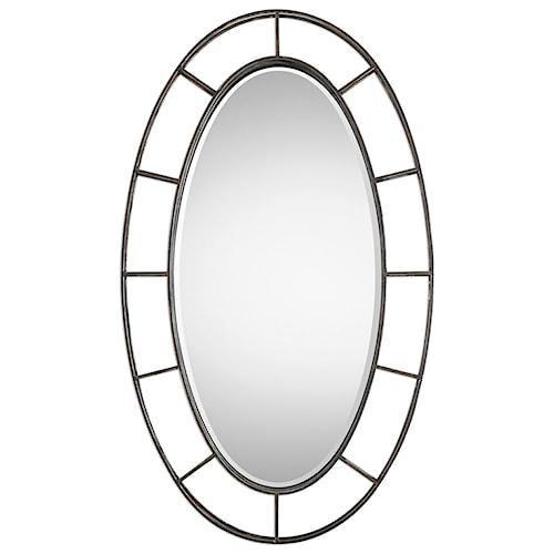 Uttermost Mirrors  Gilliam Oval Mirror