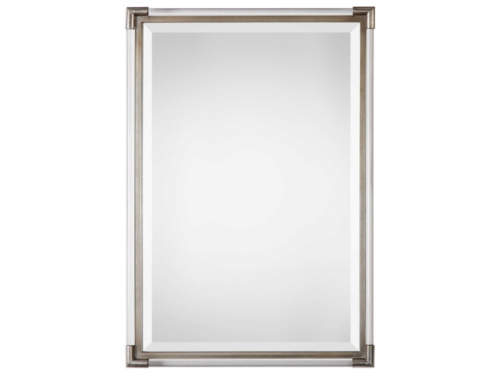 Uttermost MirrorsMackai Metallic Silver Mirror