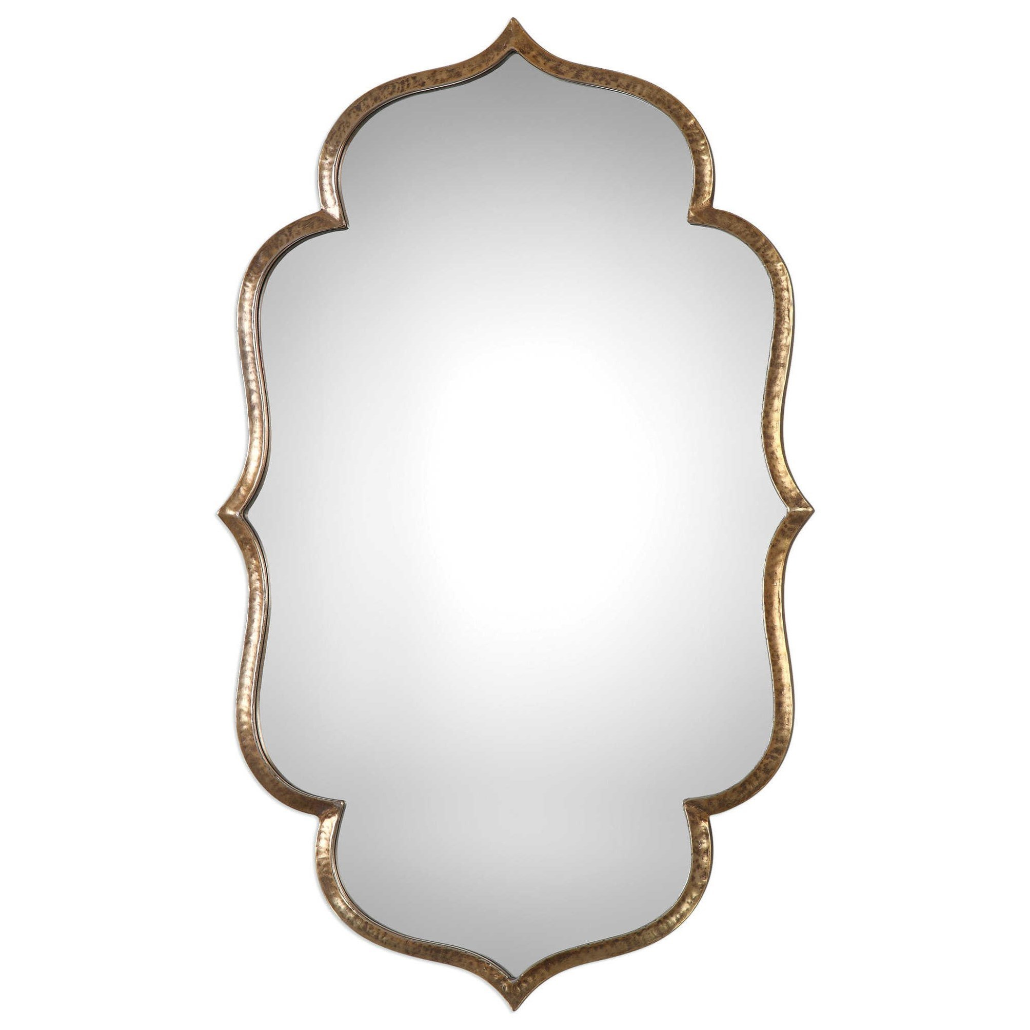 Uttermost MirrorsZina Gold Mirror ...