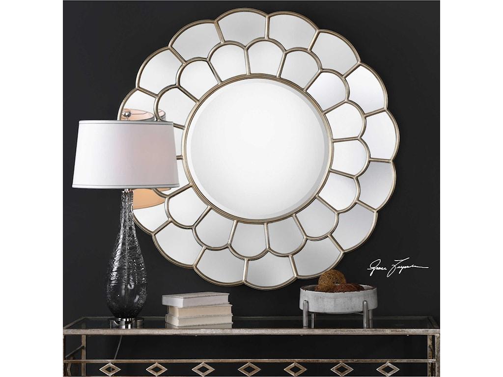 Uttermost MirrorsDahlia Silver Mirror
