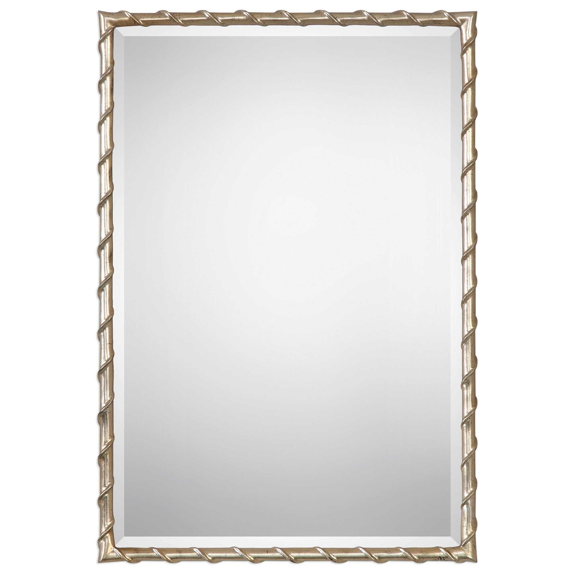 Uttermost Mirrors Laden Silver Mirror | Miskelly Furniture | Wall Mirrors