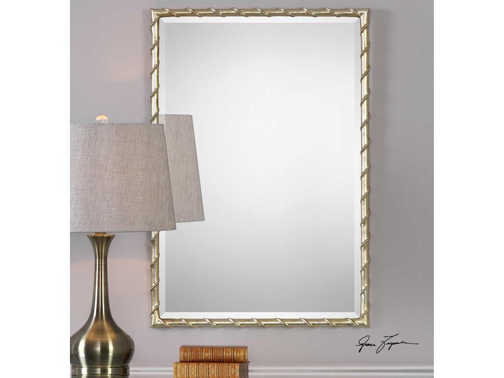 Uttermost MirrorsLaden Silver Mirror