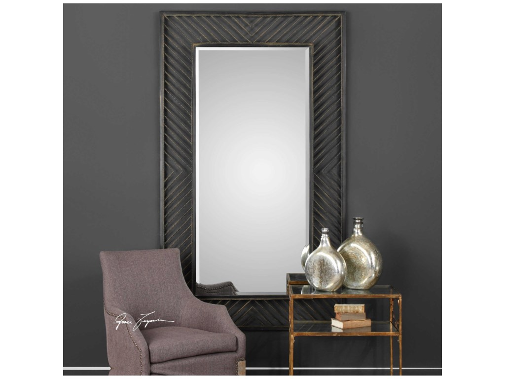 Uttermost MirrorsKarel Chevron Mirror