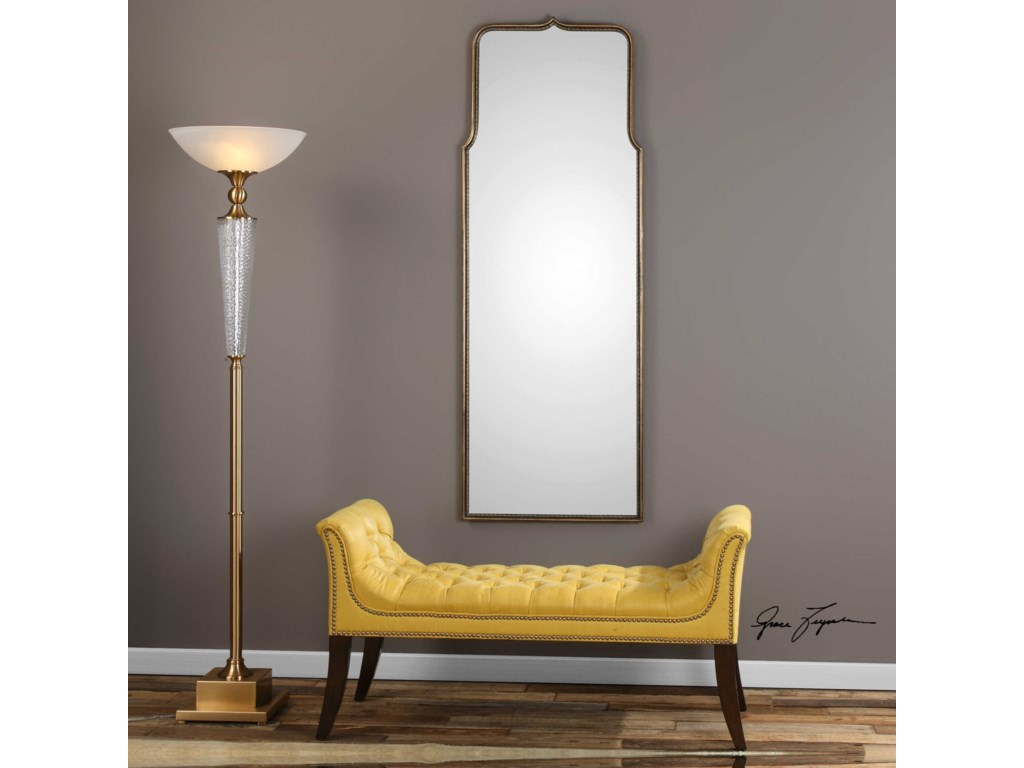 Uttermost Mirrors 09247 Adelasia Antiqued Gold Mirror | Dunk ...