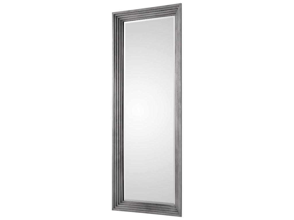 Uttermost MirrorsDario Silver Leaner Mirror