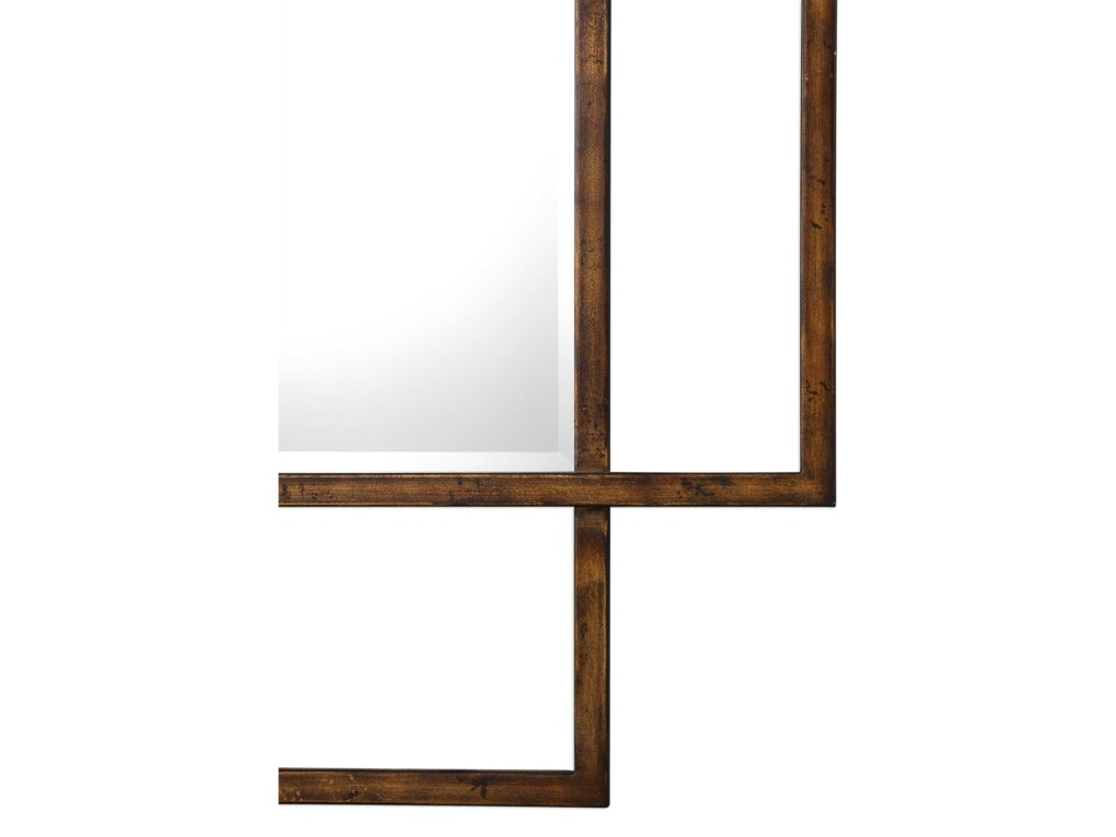 Uttermost MirrorsTribus Rust Bronze Mirror